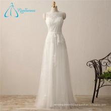 A-Line Lace Appliques Wedding Dress Princess Style