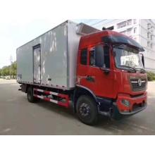 Camión congelador Dongfeng 230hp con gancho para carne