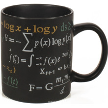 Math Formulas Mug,11oz black Coffee Mug,ceramic material.