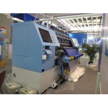 Máquina de acolchado de manufactura de prendas de punto de bloqueo computarizado
