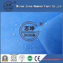 Imperméabilisez les tissus non-tissés de Spunbond de la couleur pp 100%