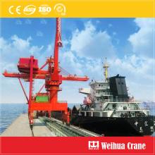 Descargador de barcos de agarre de puente