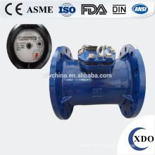 Dry type woltman analog water meter