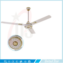 """56""""потолочные вентилятор Солнечный вентилятор DC большая комната, Вентилятор охлаждения пяти регулятор скорости"""
