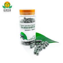 High Quality Food Supplement Spirulina Capsule