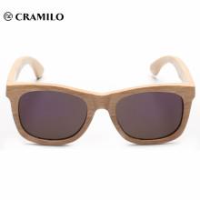 2018 óculos de sol dobradiça de madeira personalizados polarizados