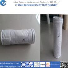 Bolsa de filtro PTFE no tejida del colector de polvo para la planta de asfalto