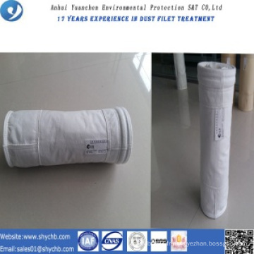 Sac filtrant non-tissé PTFE de collecteur de poussière pour l'usine d'asphalte