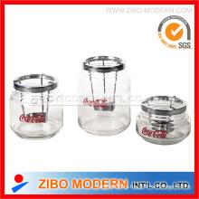 Стеклянная свеча Jar (GA8049)
