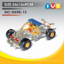 Los mejores productos diy modelo de metal modelo de coche de juguete kit de montaje para niños