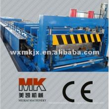 Boden-Stahlplatten-Rolle, die Maschine, Bodenbelagmaschine, Fliese bildet Maschine bildet