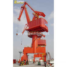 Widely Used 15ton Port Portal Crane Mq Wirerope Luffing Portal Crane Price