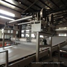 Gabinete de cocina de la máquina de la protuberancia del tablero del PVC