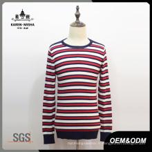 Vêtements tricotés rouges / blancs pour hommes