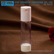 ZB-PA50 especial 50ml recomienda precio competitivo y confiable buena calidad 50ml botellas sin aire cosméticos