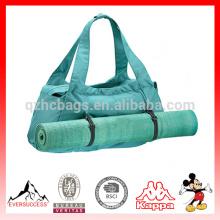 Novo design tote roupas de alta qualidade coletar esportes indoor yoga sacola