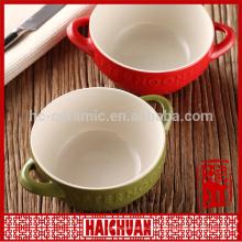 Wholesale large square ceramic bakeware, dinner plate in stock