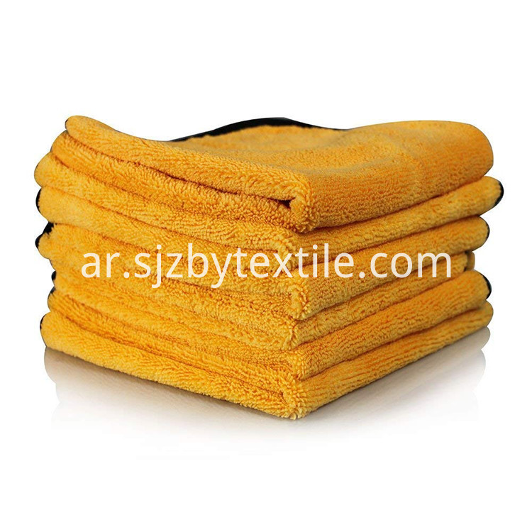 600 Gsm Car Wash Microfiber Towel