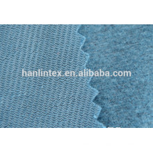 Gefärbtes 100% Polyester-Trikot gebürstetes Gewebe