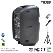 Fabrik Versorgung Portable 8 Zoll Kunststoff Lautsprecher Schrank mit Multifunktion