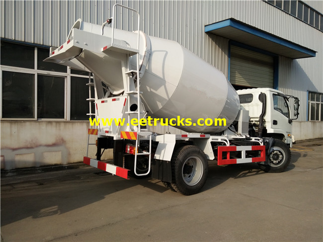 Small Concrete Mixer Trucks