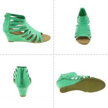Sandalias del alto talón de las mujeres de la manera