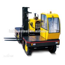 Низкая цена Боковой погрузчик с погрузчиком, вилочный погрузчик с дизельным двигателем для транспортировки больших грузов