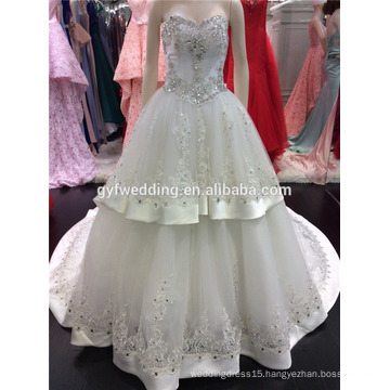 Turkey Wedding Dresses 2016 Wholesale Sweetheart Crystal Wedding Dress Imported From China A095