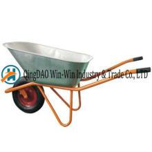 Wheelbarrow Wb8600hr PU Rueda de ruedas