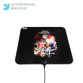 Flat Thin 50 miles Indoor VHF/UHF Amplifier Digital HDTV Antenna