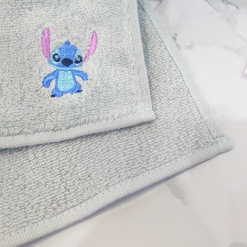 Small Square Embroidery Towel
