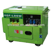 5KW 230A silent portable Diesel Welder Generator
