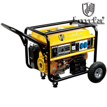 5kVA 220V Gasoline Engine 188f with Hand and Wheels