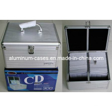 Aluminium CD Case for 200PCS CD/ CD Box