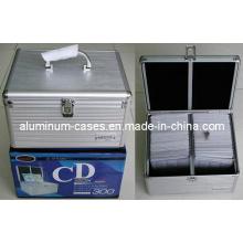 Aluminium CD Case for 200PCS CD/ CD Box