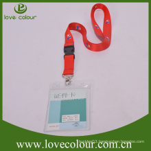 High quality custom plastic card holder/transparent soft pvc card holder