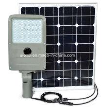 China Todo en dos LED luz de calle solar hecha en China
