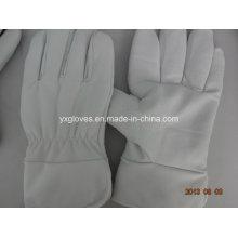 Winter Glove-White Cow Leather Glove-Utility Glove-Work Glove