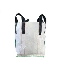 Cheap wholesale Baffle Big Bags Best Price 1ton 1000kg Jumbo Reusable Cement Packing FIBC Jumbo Bags