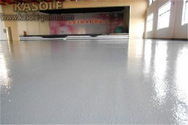 self leveling a concrete floor