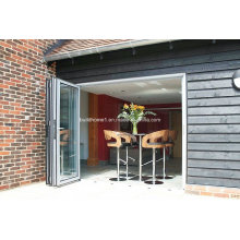 Flat Surfaced Sill Low E Double Glass Aluminum Doors