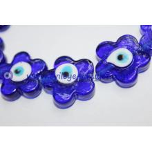 Flower-shaped evil eye beads Cheap wholesale