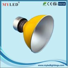 Usine professionnelle ip44 led haute lumière de la baie 50watt 3500lm lumière brillante en aluminium haute lumière de la baie