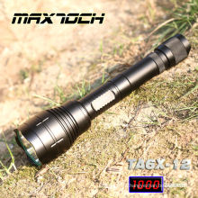 Maxtoch TA6X-12 alta potência T6 recarregável caça busca luz