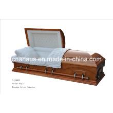 American Style Veneer Maple Casket (V10H0034)
