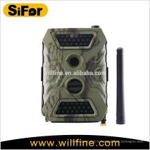 caméra de sécurité avec support de capteur de mouvement PIR de carte SIM envoyer des photos sur téléphone portable et email