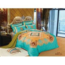 100% algodão tecido têxteis Bed Cover cama conjunto de fornecedores da China