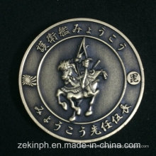 Moneda personalizada Desafío de oro antiguo de Japón