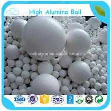Llevar a cabo la aplicación de cerámica industrial resistente al blanco Alta bola de alúmina