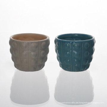 Hobnail Keramik Kerzenhalter W / Variety Farben Set